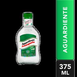 Aguardiente Sin Azucar Verde 24 - Antioqueño- Botella 375 Ml