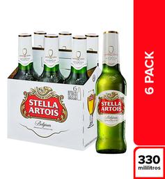 Cerveza Stella Artois - Botella 330Ml X6