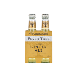 Ginger Ale - Fever Tree - Display X4 Botellas 200 Ml