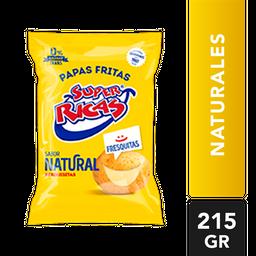 Papas Naturales - Super Ricas - Paquete 215 G