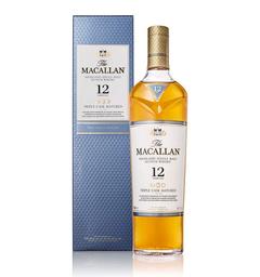 Whisky  12 Años - Macallan Triple Cask - Botella 700 Ml