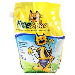 Arena Para Gatos Free Miau 4.5 Kg