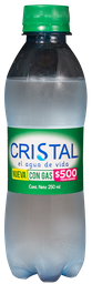 Agua Cristal con Gas 600 ml