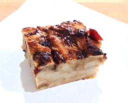 Torta de Pan con Arándanos