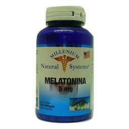 Melatonina x 5 Mg x 100 Soft