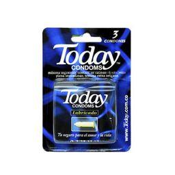 Condones Today lubricado x 3
