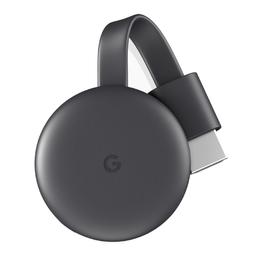 Google Chromecast 3 Tercera Generación-Negro