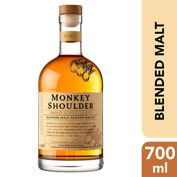 Monkey Shoulder Premium Blended Malt Scotch Whisky 700 Ml