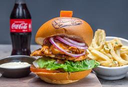 Combo BBQ Chicken Sándwich