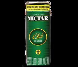 Aguardiente Sin Azucar Verde - Nectar Club - Tetra Pak 1500 Ml