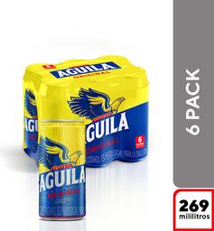 Cerveza Aguila Original - Lata 269 X6