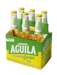 Cerveza Aguila Fusión Limón - Botella 330Ml X6