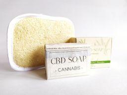 CBD SOAP + LOOFAH Estropajo Natural