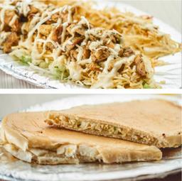 PROMO:  Chuzo Desgranado de Pollo+ Sandwich de Pollo Desmenuzado