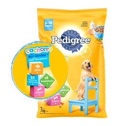 Pedigree Cachorro Sano Crecimiento 7 Kg