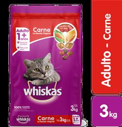 Whiskas Carne Original Ar 3 Kg