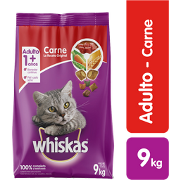 Whiskas Carne Original Ar 9 Kg