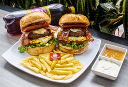 Combo Burger Ranchera X2