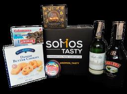 Kit De Regalo Silver Santa Rita Reserva Sauvignon Blanc+Baileys