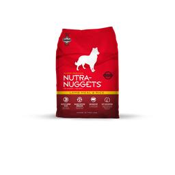 Nutra Nuggets Cordero y Arroz 7.5 Kg