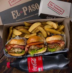 Combo Triburger El Paso