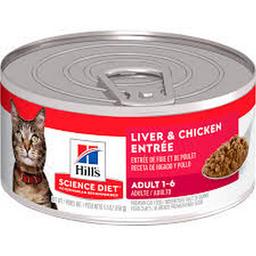 Hills F Adult Liver & Chicken  5,5OZ
