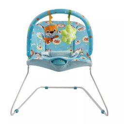 Silla Vibradora Para Bebe Bebesit Antireflujo Azul