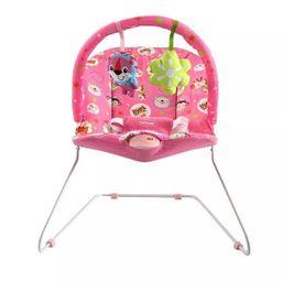 Silla Vibradora Para Bebe Bebesit Antireflujo Rosada