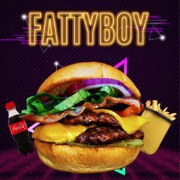 Combo Hamburguesa Fatty Boy