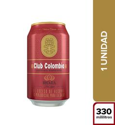 Cerveza Club Colombia Roja 330ml