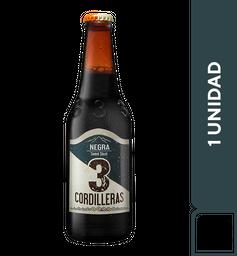 3 Cordilleras Negra 330 ml