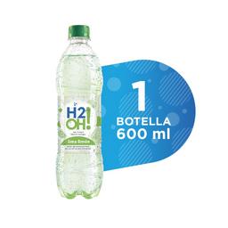 H2Oh Lima limón 600 ml