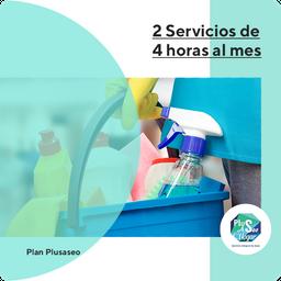 Plan 2 Servicios De 4 Horas Al Mes