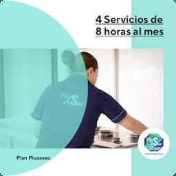 Plan 4 Servicios De 8 Horas Al Mes