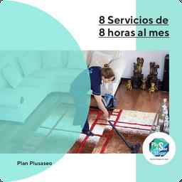 Plan 8 Servicios De 8 Horas Al Mes
