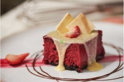 Cheesecake de red velvet