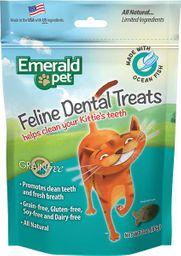 Snack Emerald Pet Cat Dental Pescado Oceánico 85 g