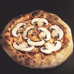 Pizza Provola e Portobello