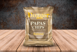 Papas chips naturales
