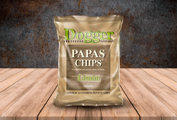 Papas chips limón