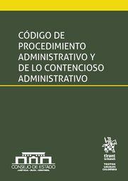 Código de procedimiento admin. y de lo contencioso admin.