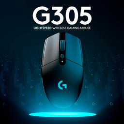 Mouse Gamer Logitech G305 Wireless Negro 1 U