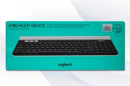 Teclado Logitech Inalámbrico Multifuncional K780 1 U