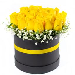 Arreglo Con Rosas Amarillas 18 U