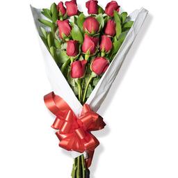 Bouquet Con Rosas 12 U