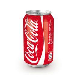 Coca Cola Sabor Original en Lata 330 ml