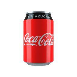 Coca Cola Sin Azúcar en Lata 330 ml