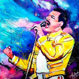 Cuadro Freddie Mercury 1 U