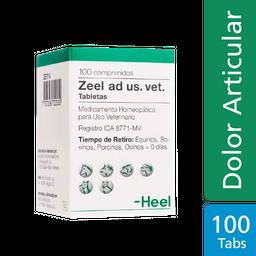 Zeel Compositum Ad Us Vet Tabletas 100 Unidades