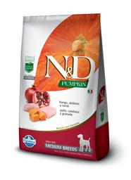 Nd Pumpkin Canine Adult Frango Medium 10,1Kg